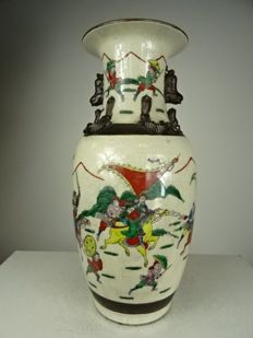 Porcelain Nanking vase – China – mid 20th century