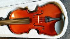 Practice violin 1/2, including case, bow and rosin