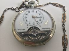 Hebdomas, pocket watch, 1930s