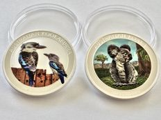 Australia: Kookaburra & Koala, Limited Colour Edition, 2017, Only 2000 Pieces!