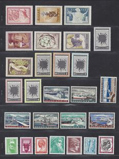 Greece 1953/1958 - Six complete series