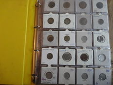 Luxcembourg – Collection of coins in collector's album. (Approx. 110 pieces)