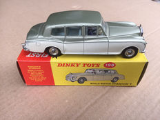 "Dinky Toys - Scale 1/43 - Rolls-Royce Phantom V  ""with opening windows"" - No.198"
