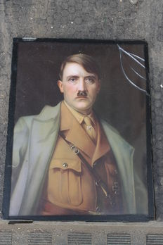 Original framed picture of the FUHRER - original