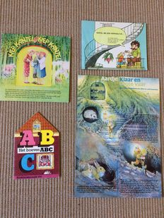 Children's book week; Lot with 4 children's books week gifts for toddlers - 1983/1986