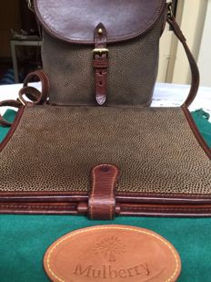 Mulberry - Vintage bag and agenda