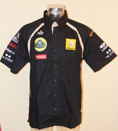 Orig. Team Lotus F1 Team & Driver Shirt > Team Only !!