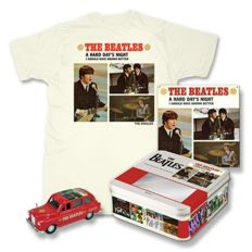 The Beatles - Series 1 - limited edition single sleeve, die-cast, t-shirt