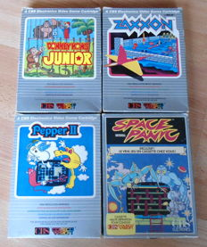 4 x games for the CBS Colecovision (PAL)