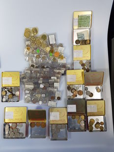 World – Batch of various coins from the 20th century (340 pieces)