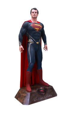 Man of Steel Statue Collectable Marvel Comics