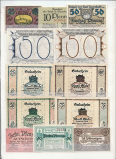 Germany and Austria - Collection of 200 notes 1918/1923