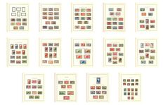 Mauritania 1913/1944 - complete collection - Yvert no. 17/137 + airmail + duty.