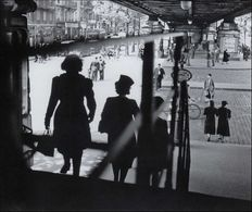 Willy Ronis (1910-2009) - Under the Sky Underground, Station Barbès - 1939