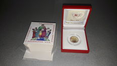 "Vatican - 2 euro 2015 ""Philadelphia Family Days"" and 2 euro 2016 ""200 years Gendarmerie"""