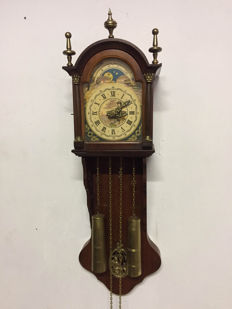 Frisian 'kantoortje' (notary clock) – Holland – late 1900s