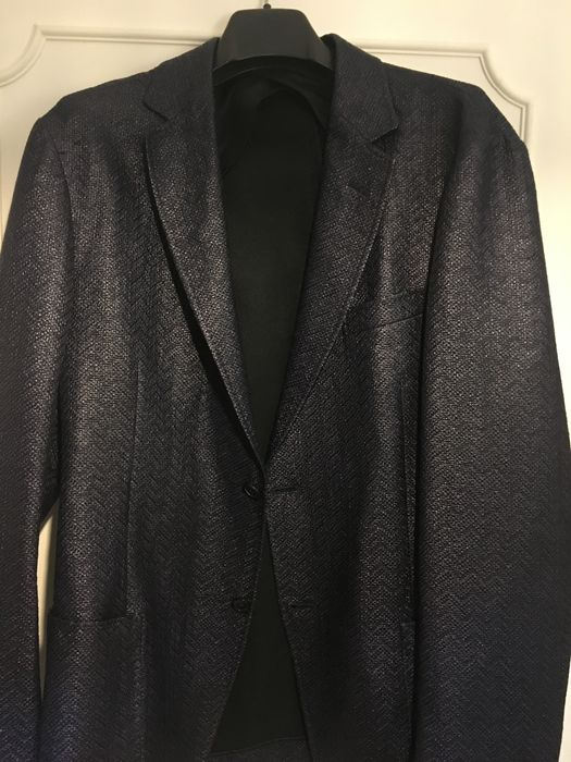 Gucci - Cotton and Raffia summer blazer