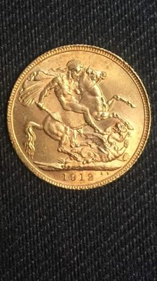 United Kingdom – Sovereign from 1912, George V – Gold