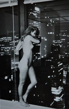 Helmut Newton - Special Collection - Patti Hansen over Manhattan - 1977