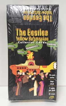 The Beatles - Full Box of Yellow Submarine collectors cards