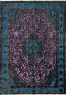 "Handmade#Persian#Coloured#Vintage NEW DESIGN""NOT USED""  285 x 200"
