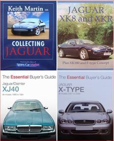 4 Books on Jaguar > Collecting Jaguar & Jaguar XK8 and XKR & Jaguar XJ40 & Jaguar X-Type