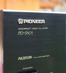 Pioneer PD-S501 Stable Platter CD-player