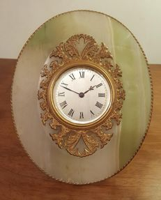 Howell James - Table clock - Late 19th century.