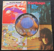 Pink Floyd / Syd Barrett / Lost And Found / Karthago / Chocolate Watchband: Great lot of 5 (Psych-) Rock albums (6LP's) including 1 Picture Disc
