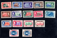 Iran 1950/52 - Two series/set of Iran - Yvert 717/732, 763/778