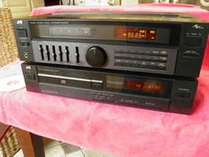 JVC RX-302L Receiver with XL-V101 CD player and JVC KD-V200 Tape Deck