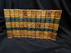 Collection de tragédies, comédies et drames choisis - 12 volumes - 1774/1775