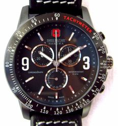 Swiss Military Hanowa. 06.4267. Chronograph. men's wristwatch, never worn. Year: 2017