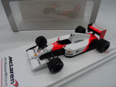 True Scale Miniatures - Scale 1/43 - McLaren MP4/6 Honda Nr# 1 Brazilian Winner 1991 - Driver: Aryton Senna