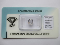 Sapphire - Color Change - 1.52 ct - No Reserved Price