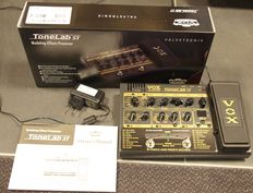 New Vox Tonelab ST multi effects processor for guitar with pedal
