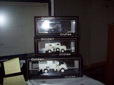 Golden Oldies - Scale 1/50 - Lot with 3 models: 3 x DAF army trucks