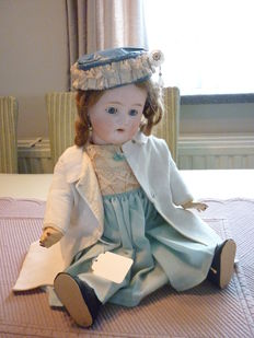 French porcelain doll Leconte (L C)