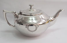 Decorative Silver Plated Teapot - Philip Ashberry & Sons, Sheffield - c. 1856 - 1890