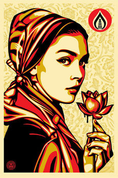 Shepard Fairey (OBEY) - Natural Springs + 5 unique obey stickers