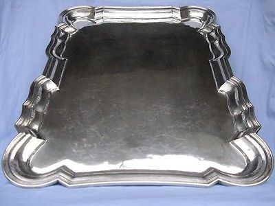 Tray, Silver 800 Silversmith from Vicenza, (Italy), period 1934-1945