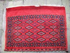 Antique hand knotted Yamout turkmen - 115 x 84 - Russia - around 1880