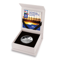 """The Netherlands – Medal 2016 """"Uitgegeven ter gelegenheid van 100e Nijmeegse Vierdaagse""""(Issued in commemoration of the 100th edition of the Nijmegen Four Days Marches) – silver"""