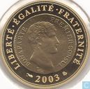 "France 10 euro 2003 (BE) ""Bicentennial of the franc germinal"""
