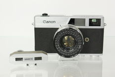 Canon Canonet with Watameter