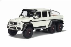 GT-Spirit - Scale 1/18 - Mercedes-Benz G63 AMG  6x6 - White