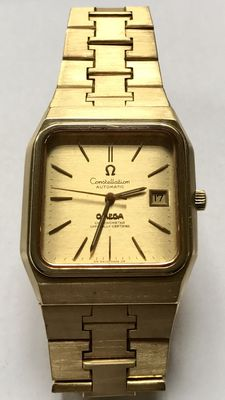 Omega Constellation Automatic – 18 kt gold men's watch with gold strap - 1960s/1970s.