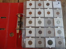 Canada – Collection of coins in a collector's album (over 200 pieces)