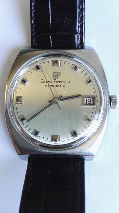 Girard-Perregaux Gyromatic – Men's wristwatch – From the 1970s.
