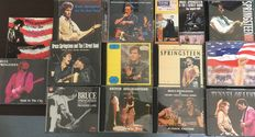 Bruce Springsteen - Lot of 14 unofficial live albums from 1973 to 2007
